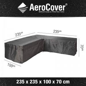 AeroCover loungesethoes  L-vorm 235x235x100xH70