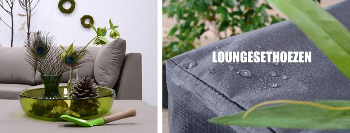 Voorbeeld Loungesethoes en impressie van Garden Impressions Coverit