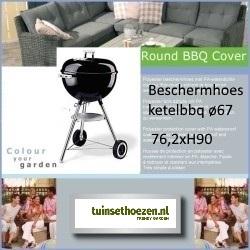 Hoes voor ketelbarbecue ø67