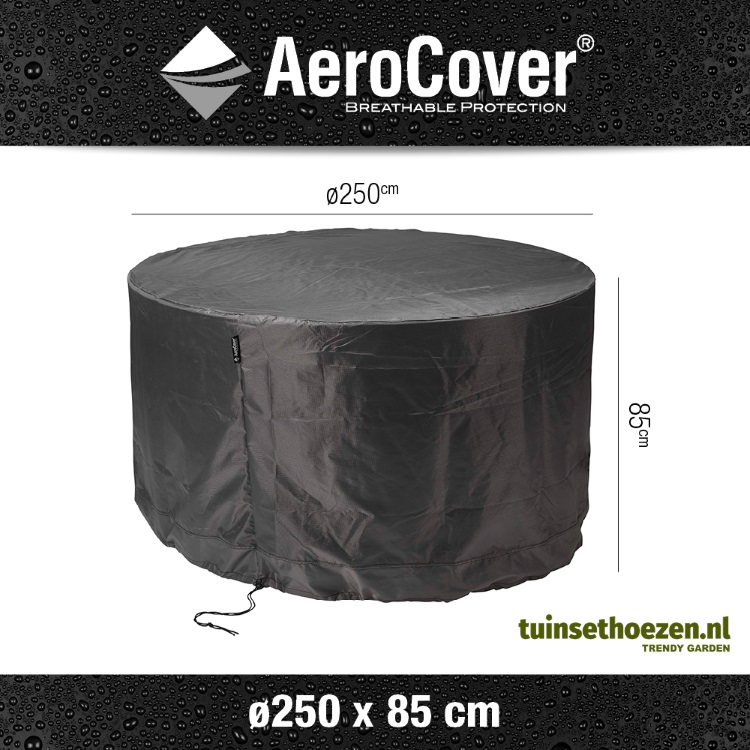 AeroCover ronde tuinsethoes ø250cm