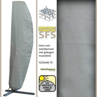afdekhoes zweefparasol H250x48-70