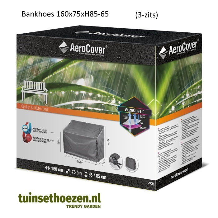 Bankhoes 3 Zits.Bankhoes 160x75xh85 65 Aerocover Tuinsethoezen Nl